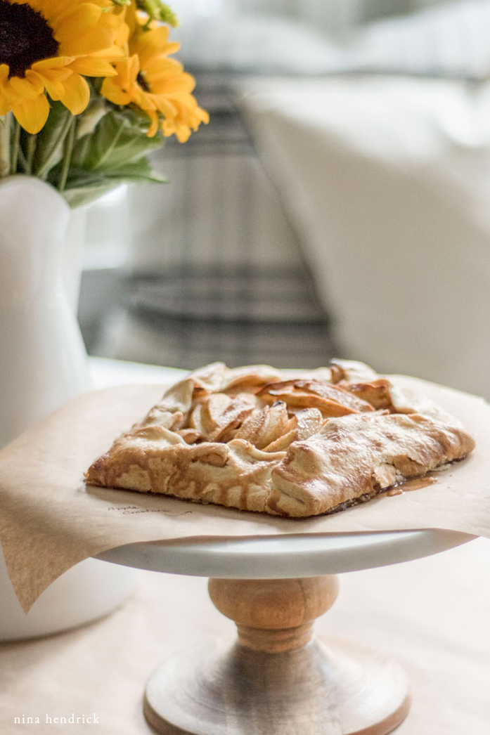 Easy Apple Crostata